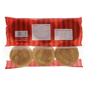 Lulu Oven Fresh Burger Buns With Sesame Seeds 6pcs