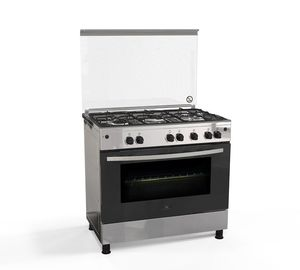 White Westing House Cooking Range WNGH90JGUS 90x60 5Burner