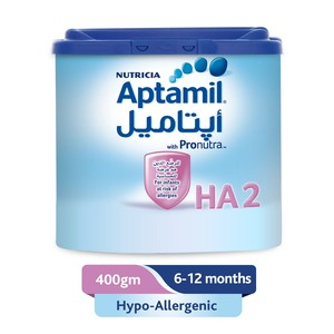 Aptamil Hypo-Allergenic 2 Follow On Milk 400g