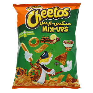 Cheetos Mix-Up Chili Lemon & Salsa 55g