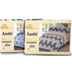 Austir Bedsheet Double /Queen Assorted