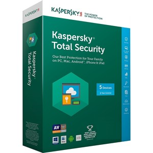 Kaspersky Total Security Multiple Devices 5User