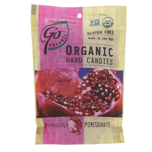 Go Organic Organic Hard Candies Pomegranate 100g