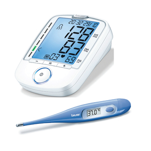 Beurer Blood Pressure Monitor BM47 + Thermometer FT09
