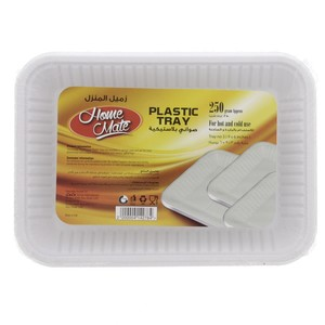 Home Mate Plastic Tray 9x6inch 250g Approx