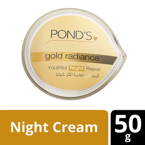Pond's Gold Radiance Youthful Night Repair Cream 50g