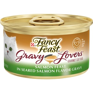 Purina Fancy Feast Gravy Lovers Salmon Feast In Seared Salmon Flavor Gravy 85g