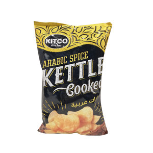 Kitco Kettle Cooked Potato Chips Arabic Spice 170g