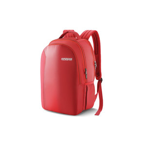 "American Tourister School Backpack Forro 17"" Red"