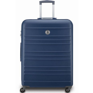 Delsey Carlit 4 Wheel Hard Trolley 66cm Blue