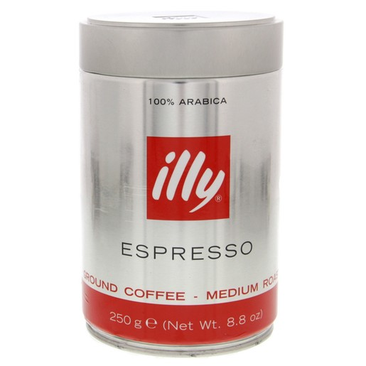 Illy Espresso Coffee 250 Gm
