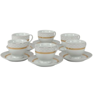 Pearl Noire Cup & Saucer 180ml