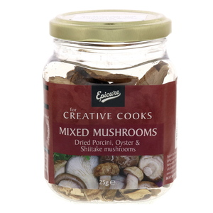 Epicure Mixed Mushrooms 25g
