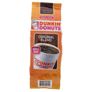 Dunkin Donuts Medium Roast Original Blend With Whole Bean 340.2 Gm