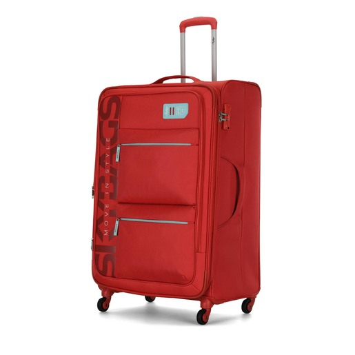 Skybags Vanguard 4 Wheel Soft Trolley 82cm Coral