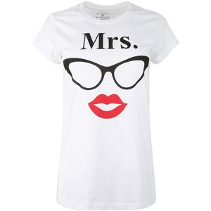 De Backers Women's U&ME Printed Tees White
