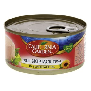 California Garden Solid Skipjack Tuna In Sunflower Oil 170g