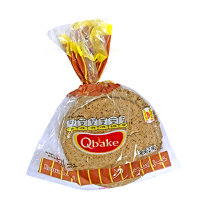 Qbake Arabic Brown Bread 3Pcs