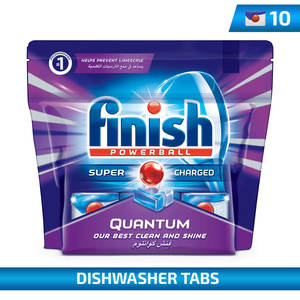 Finish Quantum Max Power Ball 10Tabs