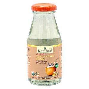Earth's Finest Organic King Coconut Water With Ginger 200ml