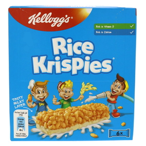 Kellogg's Rice Krispies Snack Bar 6 Bars