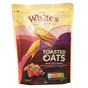 Whites Toasted Oats Wild Fruit Crunch 500g