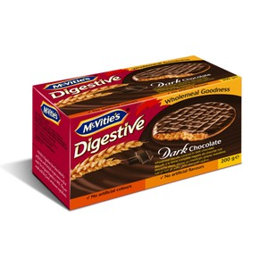 Mcvities Digestive Dark Chocolate Biscuit 200g