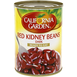 California Garden Red Kidney Beans Dark 400g