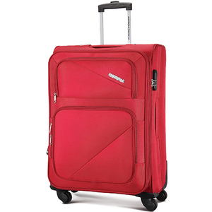 American Tourister Cocoa 4Wheel  Soft Trolley 006 80cm Red