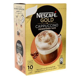 Nescafe Gold Cappuccino Unsweetened Taste 142g
