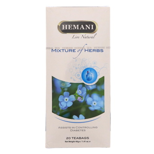 Hemani Mixture Of Herbs Controlling Diabetes 20 Tea Bags