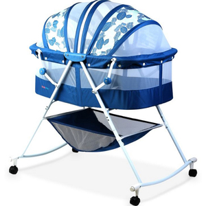 First Step Baby Crib MC-805 Blue