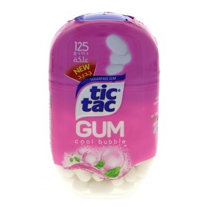 Tic Tac Gum Cool Bubble 125 Pellets