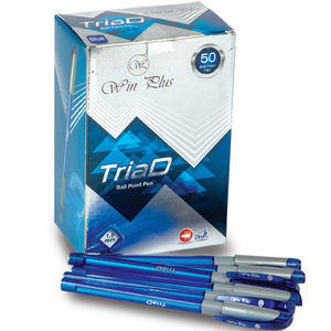 Win Plus Pen Blue TriaD 1.0mm 50's