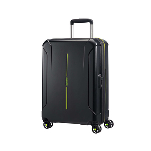 American Tourister Technum Spinner 4Wheel Hard Trolley 77cm Black