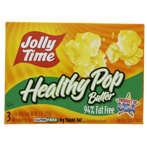 Jolly Time Healthy Pop Butter Pop Corn 255g