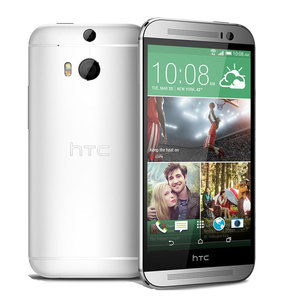 HTC One M8 Dual SIM 16GB Silver