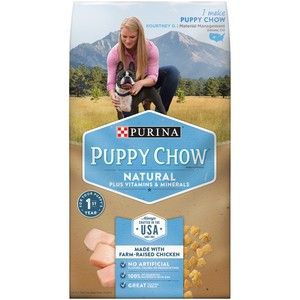 Purina Puppy Chow Natural Dry Food 1.72kg