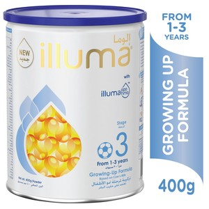 Illuma Growing Up Formula Stage 3 From 1 - 3 Years 400g