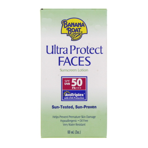 Banana Boat Ultra Protect Faces Sun Screen Lotion SPF 50 60ml