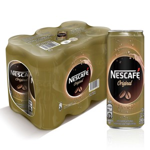 Nescafe Ready to Drink Original Coffee 6 x 240ml