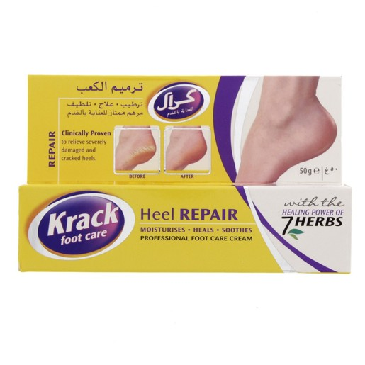 Krack Foot Care Heel Repair Cream 50g