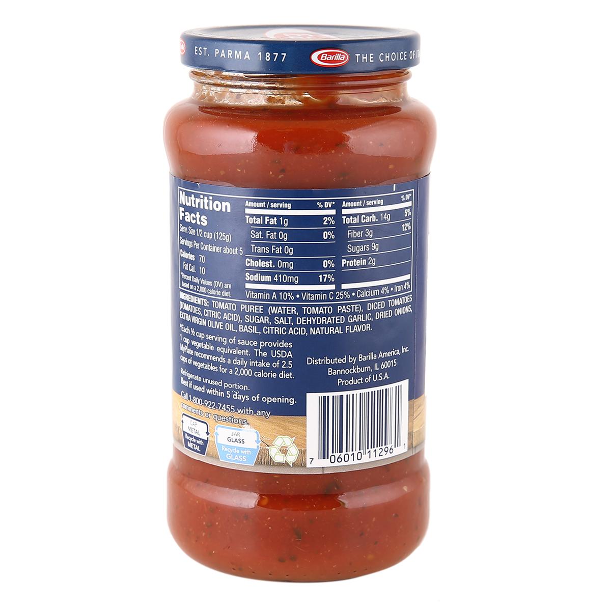 Basil Pasta Sauce 680g