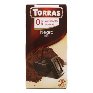 Torras Sugar Free Dark Chocolate 75g