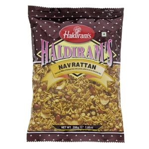 Haldiram's Navarattan Spicy Snack Mixture 200g