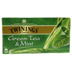 Twinings Green Tea And Mint 25pcs