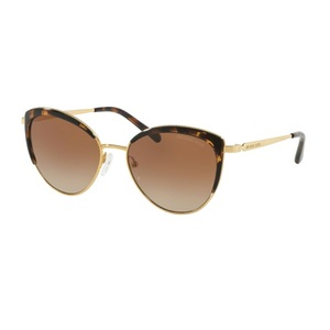 Michael Kors Women's Sunglass Cat-Eye 1046-11001356 C/Eye Gld