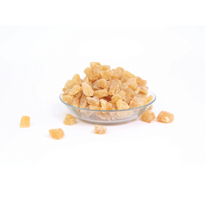 Dehydrated Crystalised Ginger Chunk 300g Approx. Weight