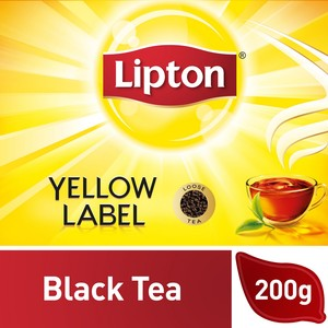 Lipton Yellow Label Black Loose Tea 200g