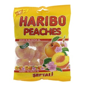 Haribo Jelly Peaches 160g